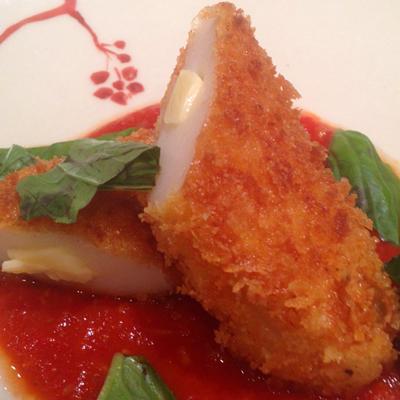 306チーズ笹蒲鉾のフリット アンチョビのトマトソースplan_item