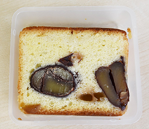 地酒のケーキ