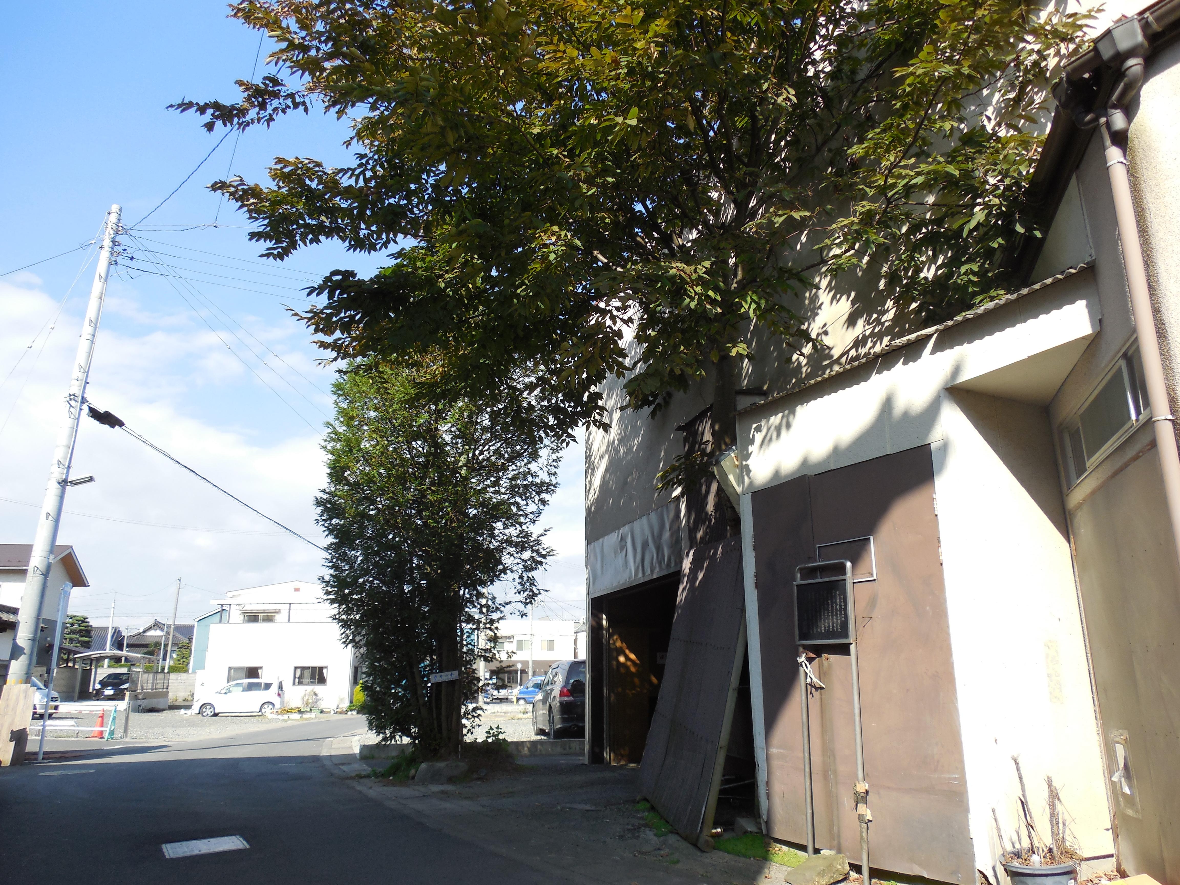 吉田松陰の宿所跡