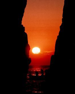 神割崎の日の出