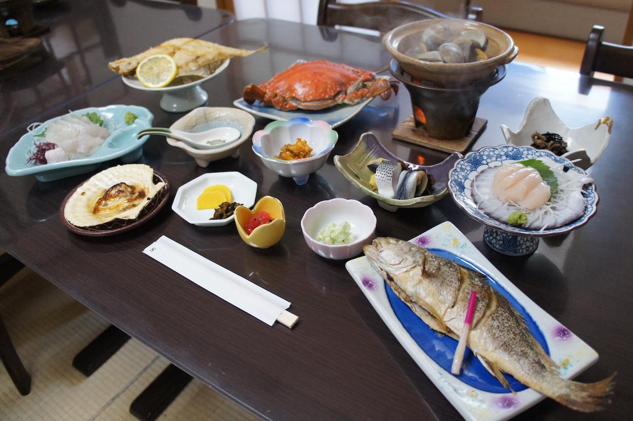 奥松島のお宿
