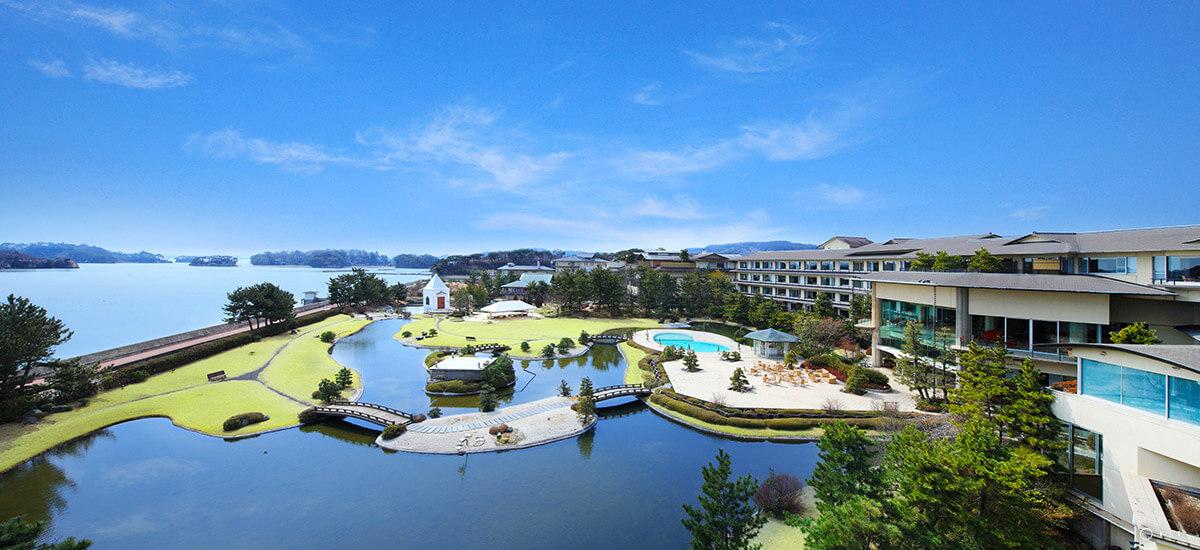 松島 水上庭園