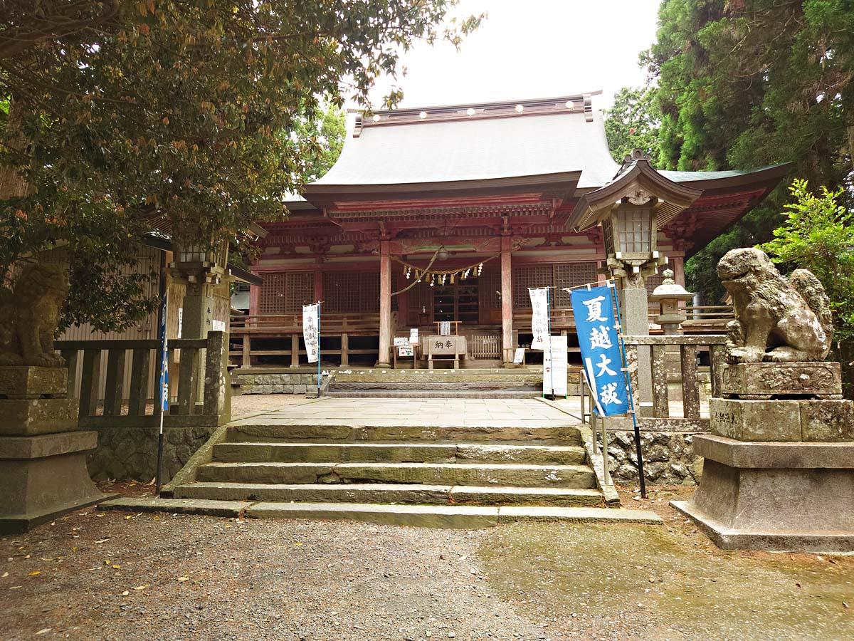 零羊崎神社